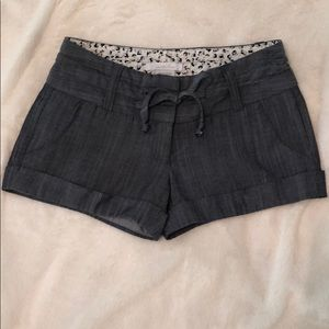 Charlotte Russe Cuffed Shorts